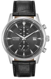 Citizen Eco-Drive Leather Strap Watch