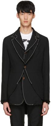 Comme des Garçons Homme Plus Black Double Blazer $1,800 thestylecure.com
