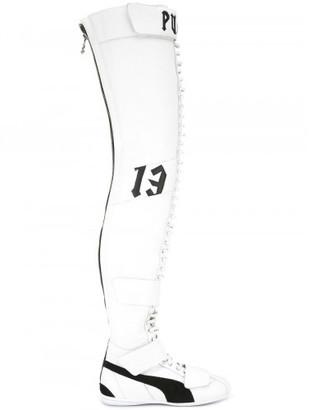 Puma Fenty X PUMA by Rihanna lace-up boots $980 thestylecure.com