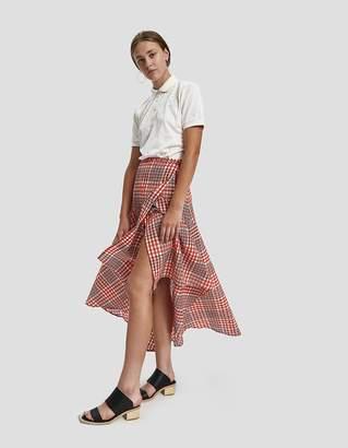 Ganni Charron High-low Skirt