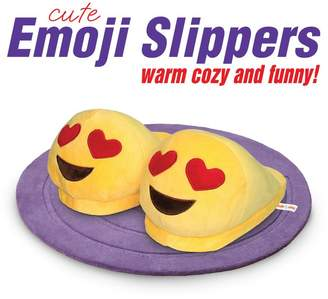 briteNway Emoji Slippers - Cartoon Cute - Warm Cozy Soft and Funny Comfort - Slip Grip Bottoms Slipper