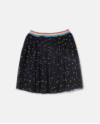 Stella McCartney Confetti Print Skirt