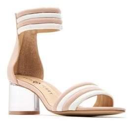 Katy Perry Sierra Microsuede Ankle-Strap Sandal