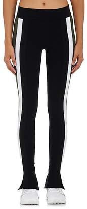 NO KA 'OI No Ka'Oi Women's Kuke Split-Hem Microfiber Leggings