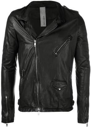 Giorgio Brato off-centre zipped jacket