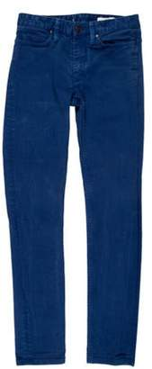 Hope Mid-Rise Skinny Jeans Blue Mid-Rise Skinny Jeans