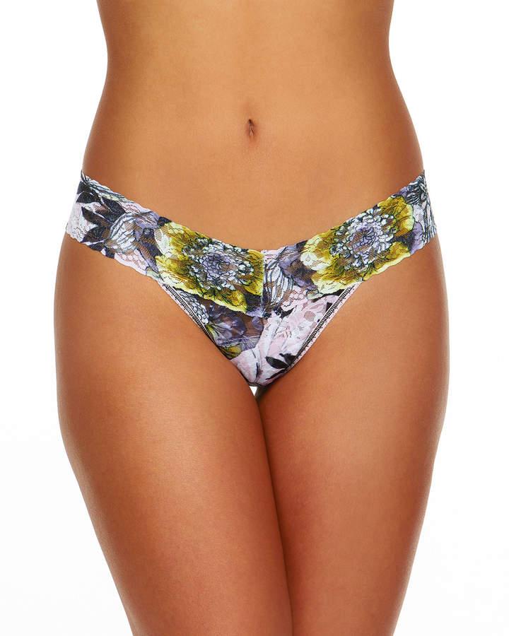 Hanky Panky Goldilocks Low-Rise Signature Lace Thong
