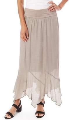 2f65bc7b4 Apt. 9 Women's Gauze Handkerchief Hem Skirt