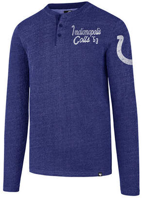 '47 Men's Indianapolis Colts Grain Henley Top