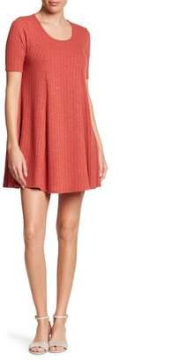 Loveappella Short Sleeve Knit Dress