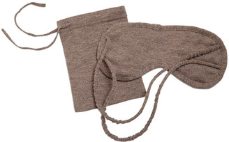 A & R Cashmere A&R Cashmere Eye Mask - Sand - a&R Cashmere