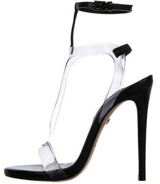 Ruthie Davis Leather PVC Sandals w/ Tags
