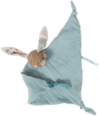 Moulin Roty Les Jolis Trop Beaux Rabbit Muslin Comforter