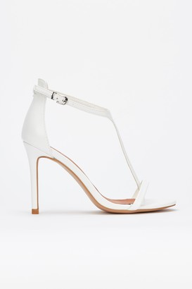caa6be7d06ad White Heeled Sandals - ShopStyle UK
