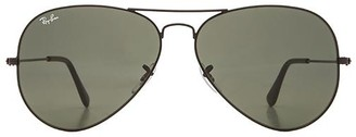 Ray-Ban Aviator Large Metal II in Black. $150 thestylecure.com