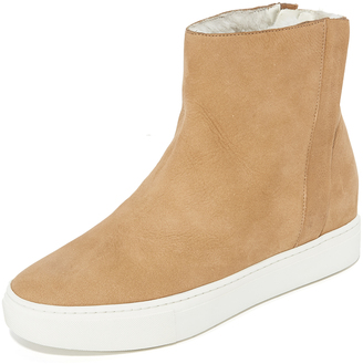Vince Hardy High Top Sneaker Booties $350 thestylecure.com