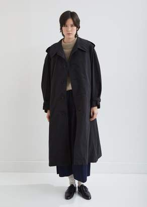 Y's Military Trench Coat