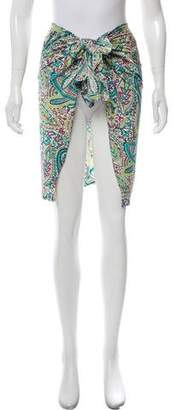 Etro Paisley Swimsuit Cover-Up