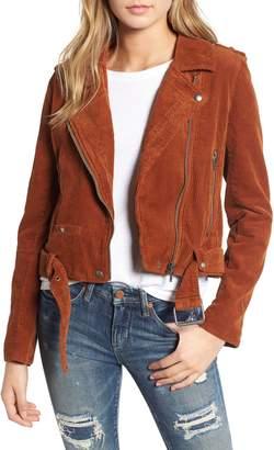 Blank NYC BLANKNYC Corduroy Moto Jacket