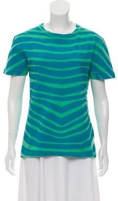 Pierre Balmain Printed Crew Neck T-Shirt w/ Tags