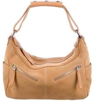 Tod's Milky Suede Shoulder Bag