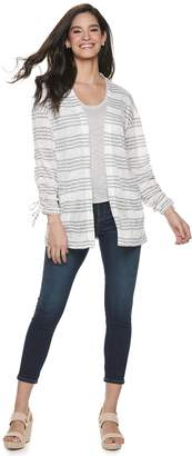 Juicy Couture Women's Cinched Sleeve Cardigan