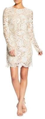 Dress the Population Jessica Crochet Lace Sheath Dress