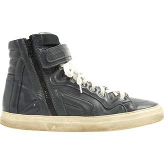 Pre-owned - Leather high trainers Pierre Hardy gPMqriz