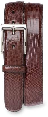 Nordstrom Torino Belts Lizard Leather Belt