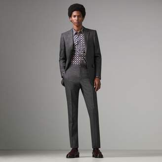 Burberry Slim Fit English Pinstripe Wool Suit