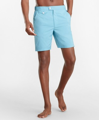 "Brooks Brothers Newport 7"" Swim Trunks"