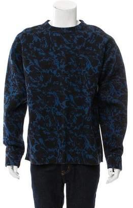 Marni Abstract Print Neoprene Sweatshirt