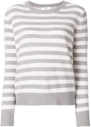 Allude striped jumper