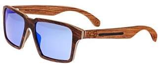 Earth Wood Piha Wood Sunglasses Polarized Wayfarer