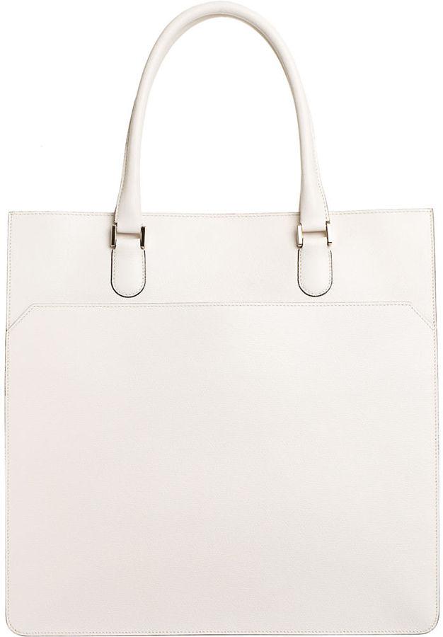 Valextra Slim Shopping Bag