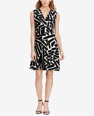 American Living Graphic Jersey Dress $79 thestylecure.com