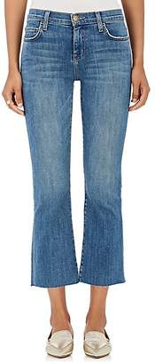 Current/Elliott Women's The Kick Crop Jeans - Lt. Blue