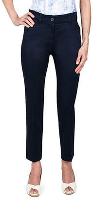 Haggar Sateen Ankle Pants