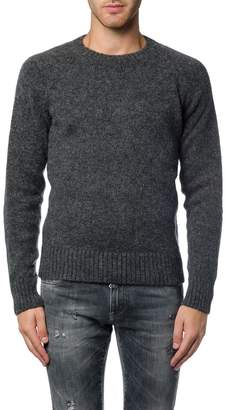 Ami Alexandre Mattiussi Oversized Raglan Sleeves Crew Neck Sweater