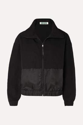 Kenzo Hooded Printed Shell Jacket - Black