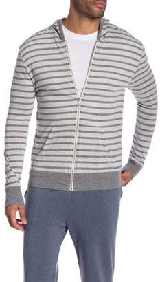 Alternative Stripe Eco Zip Hoodie