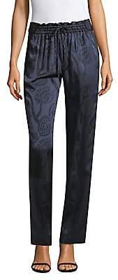 Peter Pilotto Women's Satin Jacquard Trousers