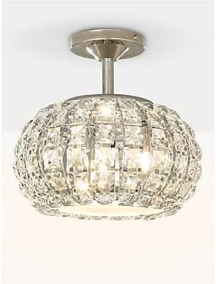 John lewis ceiling lighting shopstyle uk at john lewis john lewis venus ceiling light crystal and chrome aloadofball Images