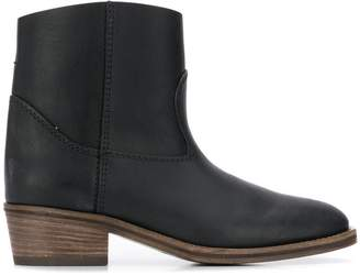 Forte Forte round toe ankle boots