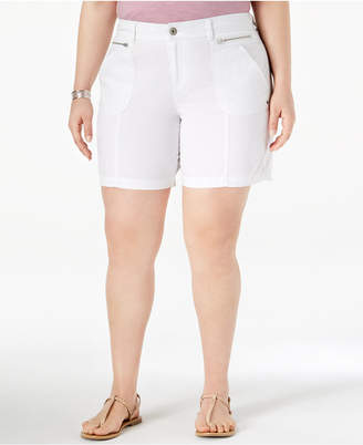 Style&Co. Style & Co Plus Size Relaxed Shorts, Created for Macy's