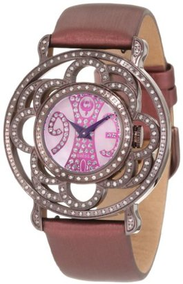 Brillier レディース04 – 71727 – 10 Papillon swiss-quartzマザーオブパール時計