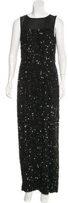 St. John Embellished Silk Gown $430 thestylecure.com