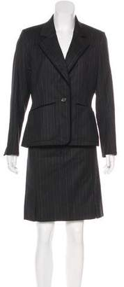 Saint Laurent Wool Knee-Length Skirt Suit