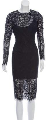 Veronica Beard Lace Midi Dress