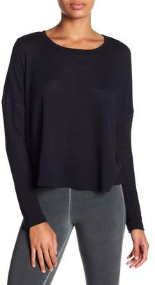 David Lerner Long Sleeve Cropped Boxy Tee